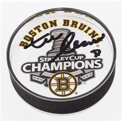 Zdeno Chara Signed 2011 Stanley Cup Boston Bruins Acrylic Hockey Puck (Your Sports Memorabilia Store