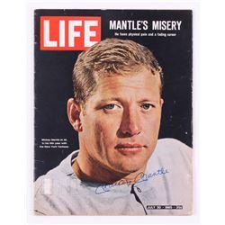 "Mickey Mantle Signed Vintage ""Life"" Magazine (JSA LOA)"