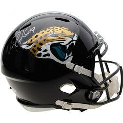 Nick Foles Signed Jacksonville Jaguars Full-Size Speed Helmet (Fanatics Hologram)