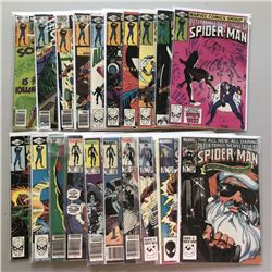Lot of (20) 1980-86  Peter Parker, The Spectacular Spider-Man  1st Series Marvel Comic Books