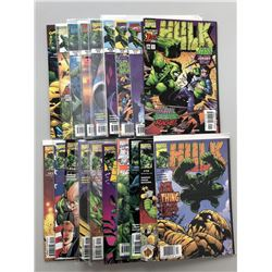 """Lot of (38) 1999-2003 """"The Incredible Hulk"""" 2nd Series Marvel Comic Books"""