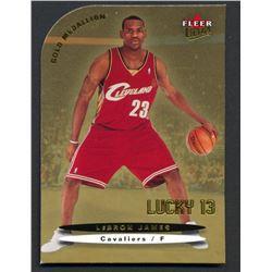 2003-04 Ultra Gold Medallion #171 LeBron James L13
