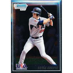 2010 Bowman Chrome 18U USA Baseball #18BC8 Bryce Harper