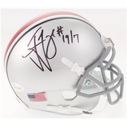 Ted Ginn Jr. Signed Ohio State Buckeyes Mini Helmet (JSA COA)