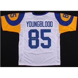 "Jack Youngblood Signed Jersey Inscribed ""HOF 01"" (Radtke COA)"