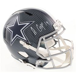 Amari Cooper Signed Dallas Cowboys Full-Size Hydro Dipped Speed Helmet (JSA COA)