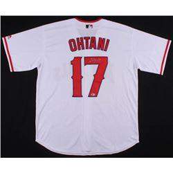 Shohei Ohtani Signed Los Angeles Angels Jersey (Beckett LOA)