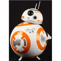 """Brian Herring Signed Disney """"Star Wars"""" Big-Figs Deluxe 18"""" BB-8 Figure Inscribed """"BB-8"""" with Hand-D"""