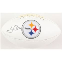 James Conner Signed Pittsburgh Steelers Logo Football (Radtke COA)
