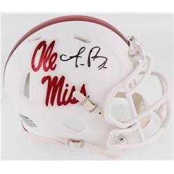 A. J. Brown Signed Ole Miss Rebels Speed Mini Helmet (Radtke COA)