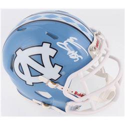 Eric Ebron Signed North Carolina Tar Heels Speed Mini Helmet (Radtke COA)