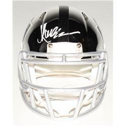Marcus Allen Signed Oakland Raiders Chrome Speed Mini Helmet (Radtke COA)