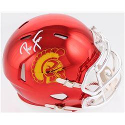 Ronnie Lott Signed USC Trojans Chrome Speed Mini Helmet (Radtke COA)
