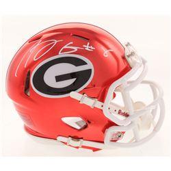 A. J. Green Signed Georgia Bulldogs Chrome Speed Mini Helmet (Radtke COA)