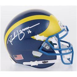 Rich Gannon Signed Delaware Fightin' Blue Hens Mini Helmet (Radtke COA)