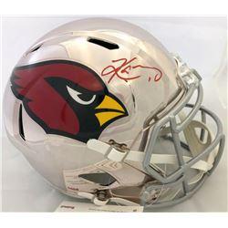 Kyler Murray Signed Arizona Cardinals Full-Size Chrome Speed Helmet (JSA COA)