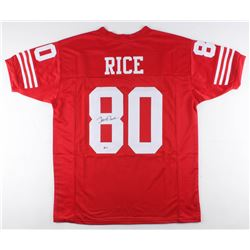 Jerry Rice Signed Jersey (Beckett COA)