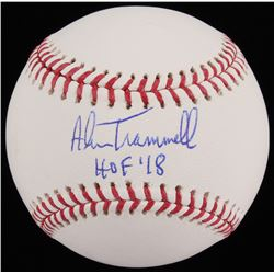 "Alan Trammell Signed OML Baseball Inscribed ""HOF '18"" (JSA COA)"