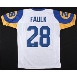 Marshall Faulk Signed Jersey (Beckett COA)