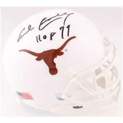 "Earl Campbell Signed Texas Longhorns Mini Helmet Inscribed ""HOF 77"" (JSA COA)"