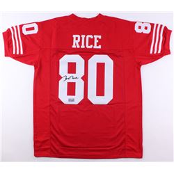 Jerry Rice Signed Jersey (JSA COA  Rice Hologram)