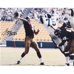 "Sonny Jurgensen Signed Washington Redskins 16x20 Photo Inscribed ""HOF 83"" (JSA COA)"