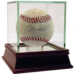 Gary Sanchez Signed 2017 Game-Used Baseball (Steiner COA  MLB Hologram)