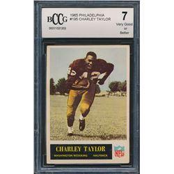 1965 Philadelphia #195 Charley Taylor RC (BCCG 7)