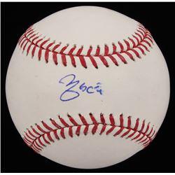 Yadier Molina Signed OML Baseball (JSA COA)