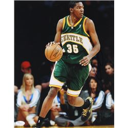 Kevin Durant Signed Seattle SuperSonics 11x14 Photo (JSA COA)