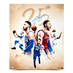 Ben Simmons Signed Philadelphia 76ers 20x24 Photo (UDA COA)