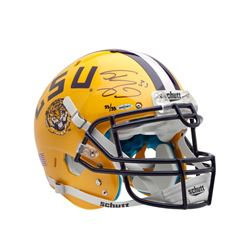 Shaquille O'Neal Signed LSU Tigers Limited Edition Full-Size Authentic On-Field Helmet (UDA COA)