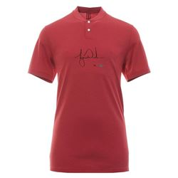 Tiger Woods Signed Limited Edition Red Vapor Aeroreact Blade Nike Polo Shirt (UDA COA)