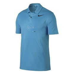 Tiger Woods Signed Limited Edition Nike Blue Fury Polo Shirt (UDA COA)