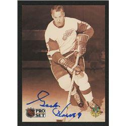 Gordie Howe Signed 1991-92 Pro Set #344 (YourSportsMemorabiliaStore COA)