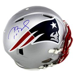 Tom Brady Signed New England Patriots Full-Size Authentic On-Field Speed Helmet (TriStar Hologram)