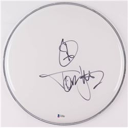 """Tommy Lee Signed 12.5"""" Drum Head (Beckett COA)"""