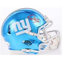 Deandre Baker Signed New York Giants Chrome Speed Mini Helmet (JSA COA)
