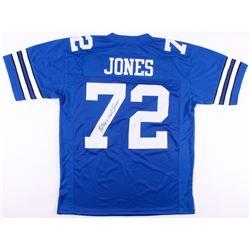 "Ed ""Too Tall"" Jones Signed Jersey (JSA Hologram)"