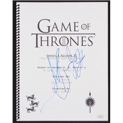 "Hafpor Julius Bjornsson Signed ""Game of Thrones: The Mountain and the Viper"" Episode Script (JSA COA"