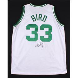 Larry Bird Signed Boston Celtics Jersey (PSA COA  Bird Hologram)