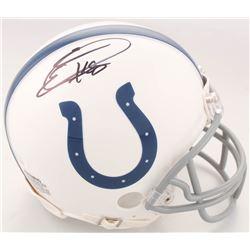 Eric Ebron Signed Indianapolis Colts Mini Helmet (JSA COA)