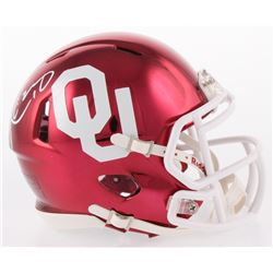 Kyler Murray Signed Oklahoma Sooners Chrome Speed Mini Helmet (JSA Hologram)