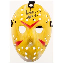 "Ari Lehman Signed ""Friday the 13th"" Mask Inscribed ""Jason 1"" (Beckett COA)"