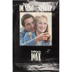 "Meryl Streep Signed ""Falling in Love"" 27x41 Movie Poster (JSA COA)"