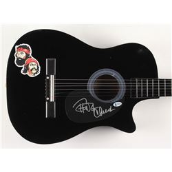 "Cheech Marin  Tommy Chong Signed 38"" Acoustic Guitar (Beckett COA)"