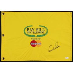 Arnold Palmer Signed Bay Hill Invitational Pin Flag (JSA LOA)