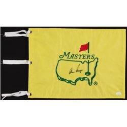 Gary Player Signed Masters Pin Flag (JSA COA)