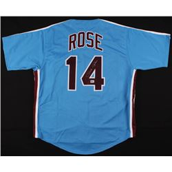 Pete Rose Signed Jersey (Fiterman Sports Hologram)