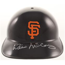 Willie McCovey Signed San Francisco Giants Authentic Batting Helmet (Beckett COA)